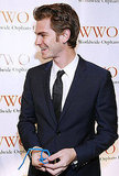 Andrew Garfield helped raise money for the Worldwide Orphans Foundation.