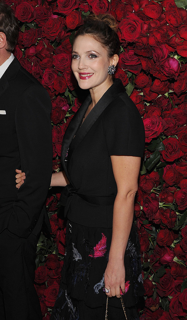 Drew Barrymore arrived at the 2011 MoMA Film Benefit.