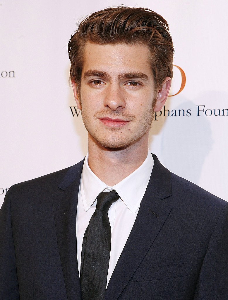 Andrew Garfield put on a suit to support the Worldwide Orphans Foundation.