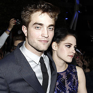 Robert Pattinson and Kristen Stewart Cute Premiere Pictures