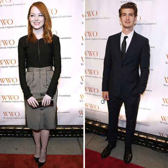 Emma Stone and Andrew Garfield Hit the Town Together Again!