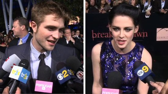 Video: See Robert, Kristen, and All the Carpet Madness at the Breaking Dawn Premiere!