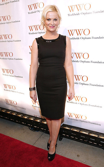 Amy Poehler hosted the Worldwide Orphans Foundation's Benefit Gala in NYC.