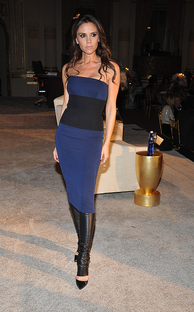 Victoria Beckham attended WWD's Apparel and Retail CEO Summit at NYC's Plaza Hotel.