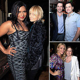 "Mindy Kaling Hangs With Nicole and Jon, Shares Her ""Tongue in Cheek"" Relationship Advice"