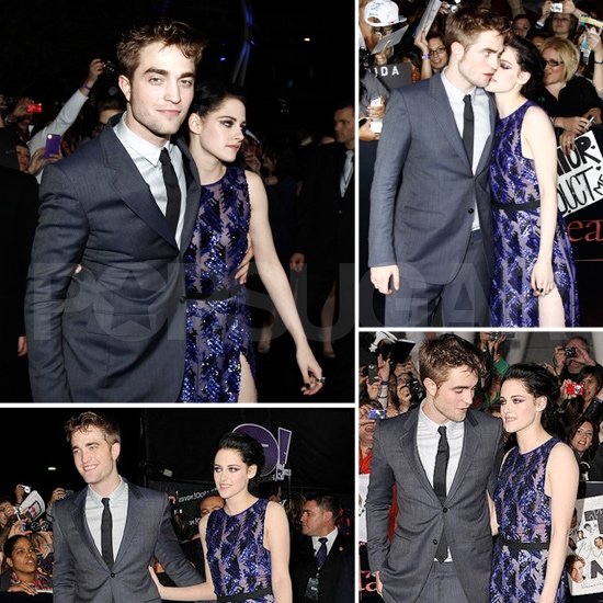 Robert and Kristen's 25 Cutest Moments at the Breaking Dawn Premiere!