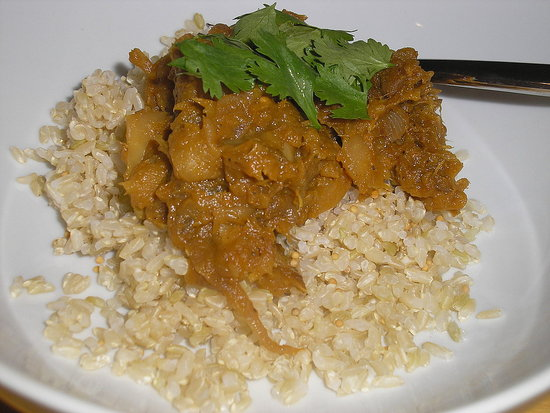 Pumpkin-Apple Curry