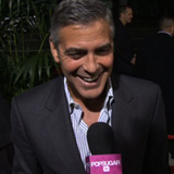 George Clooney Talking About Adopting Children Video