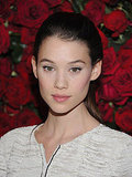 Astrid Berges-Frisbey at the MoMA.