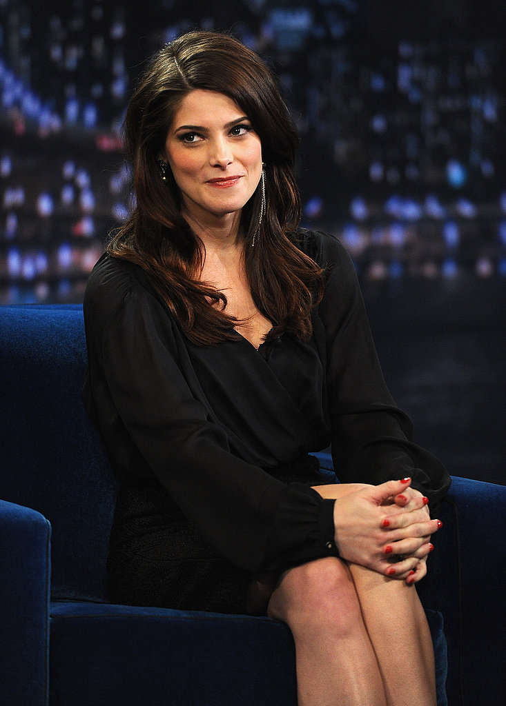 Ashley Greene looked adorable for last night's appearance on Late Night with Jimmy Fallon.