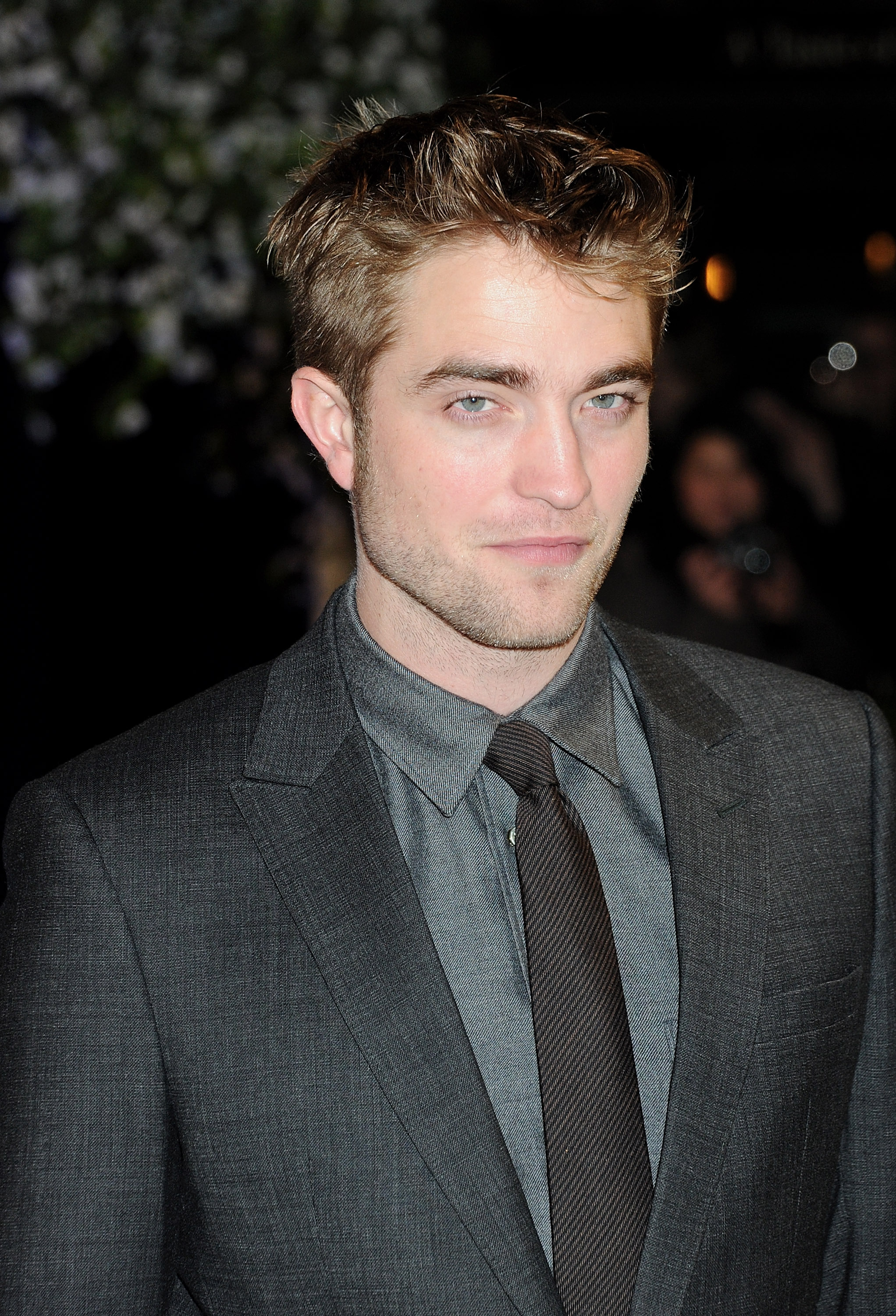 Robert Pattinson at the London premiere of Breaking Dawn Part 1.