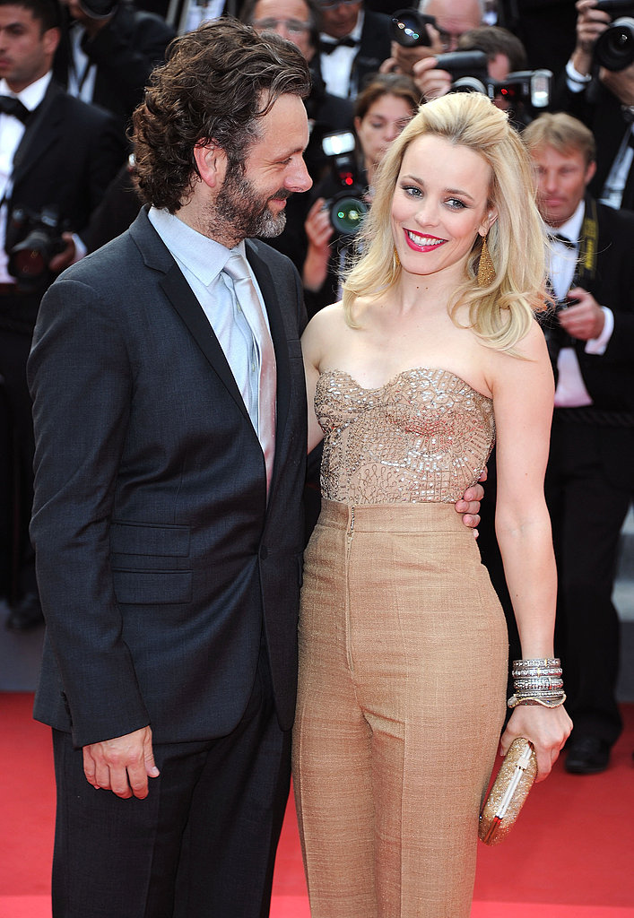 Rachel posed alongside new love Michael Sheen at the Cannes Film Festival premiere of Sleeping Beauty in 2011.