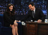 Ashley Greene made Jimmy Fallon laugh.