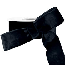 15 Yds Wrights Washable Velvet Ribbon Trim Black .75 Inch at Dove Originals Trims | Cording, Lace Trim, Fabric Fringe