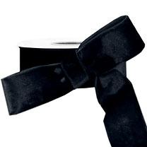 15 Yds Wrights Washable Velvet Ribbon Trim Black .75 Inch at Dove Originals Trims | Cording, Lace Trim, Fabric Fringe