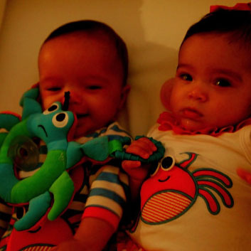 Moroccan and Monroe Cannon Pictures Mariah Carey's Babies