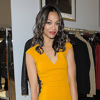 Zoe Saldana, Minka Kelly at Michael Kors Boutique Pictures