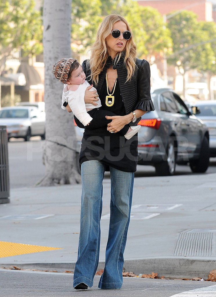 Rachel Zoe gave Skyler Berman a lift around LA.