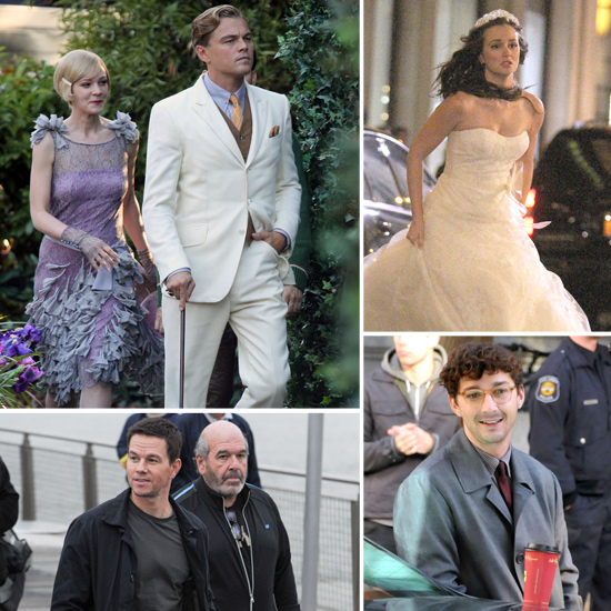 Leonardo DiCaprio, Leighton Meester, Shia LaBeouf, and More Stars on Set This Week!