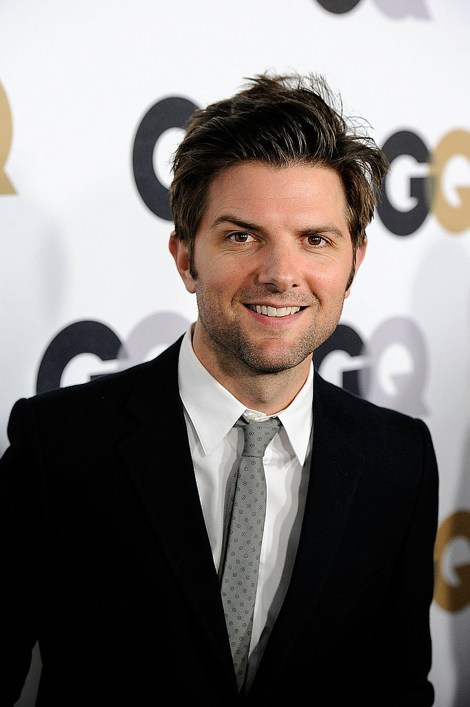 Adam Scott stepped out in style for GQ.