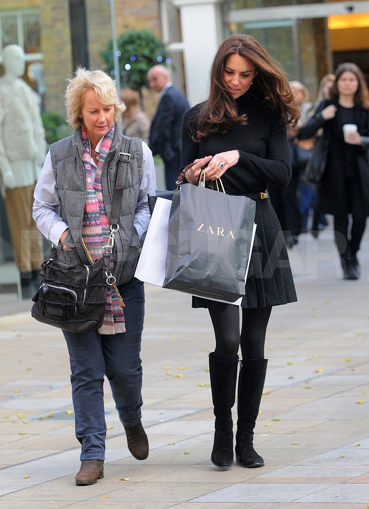 Kate Middleton shopped at Zara in London!