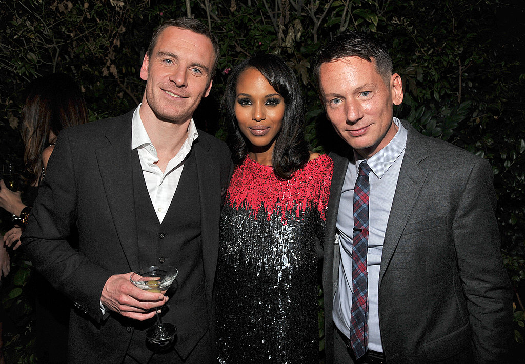 Jim Nelson caught up with Jon Hamm and Kerry Washington.