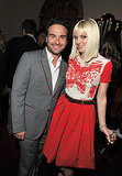 Anna Faris and Johnny Galecki helped swear in GQ's Men of the Year.