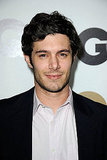 Adam Brody ditched his tie at GQ's Men of the Year party.