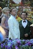 Leonardo DiCaprio, Carey Mulligan, and Tobey Maguire filmed scenes for The Great Gatsby in Australia.