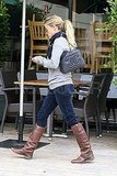 Reese Witherspoon arriving at Literati Cafe for lunch.