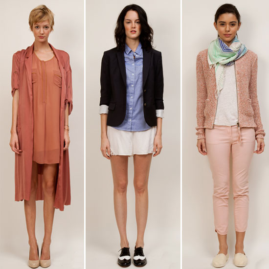 Aritzia Spring 2012 Collection