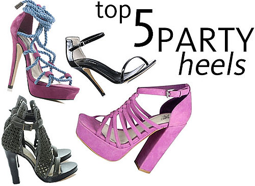 Five of the Sexiest High Heels for Summer: Snakeskin, Minimalist Stilettos, Bold Colour, Platforms and more!