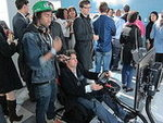 Race Car Driving at Wired Store 2011