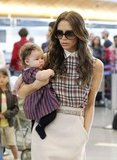 Victoria Beckham and Harper Beckham were so cute together!