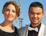 Jules Egan and Guy Sebastian