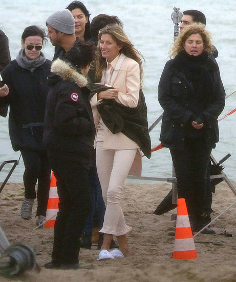 See Gisele Bundchen on the Givenchy Spring 2012 Campaign Set
