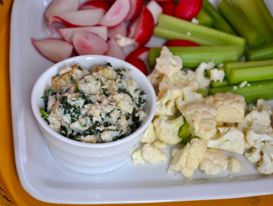 Warm Spinach and White Bean Dip
