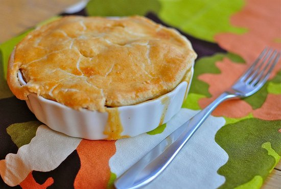 Thanksgiving Leftovers: Turkey Pot Pie