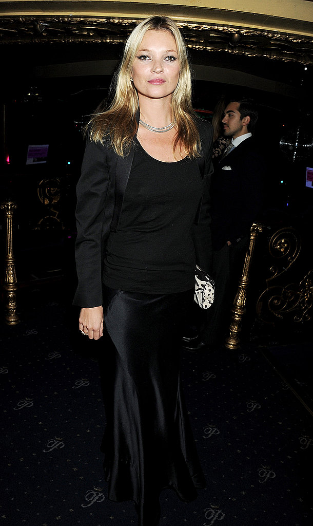Kate Moss at a charity auction in London.