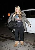 Jessica Simpson going to Bronx's birthday party.