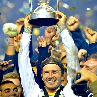 David Beckham Wins MLS Cup (Video)