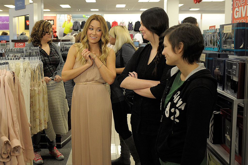 Lauren Conrad shopping at Kohl's.