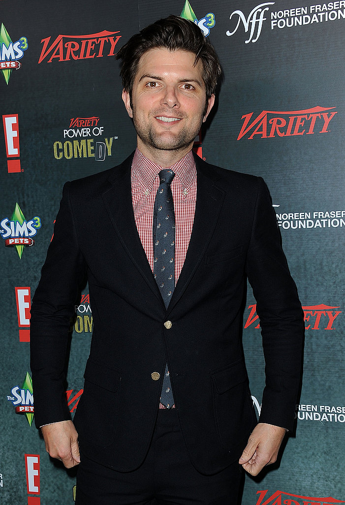 Adam Scott was on hand for the annual event.