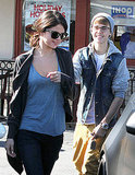 Selena Gomez and Justin Bieber left IHOP together.