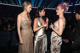 Taylor Swift, Selena Gomez, and Katy Perry catch up.