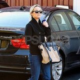 Reese Witherspoon fit in some preholiday shopping.