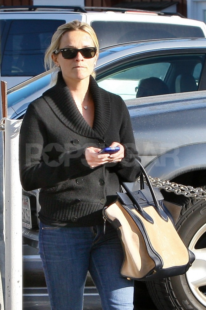 Reese Witherspoon went shopping in LA.