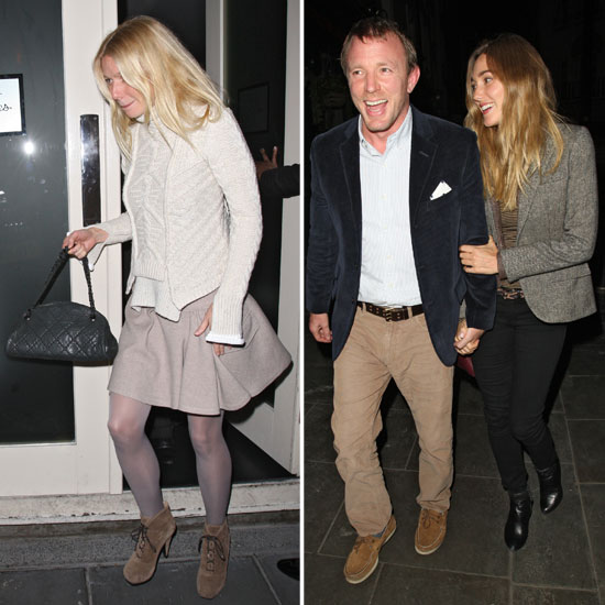 Gwyneth Paltrow Congratulates Guy Ritchie on His New Baby Boy Over Dinner