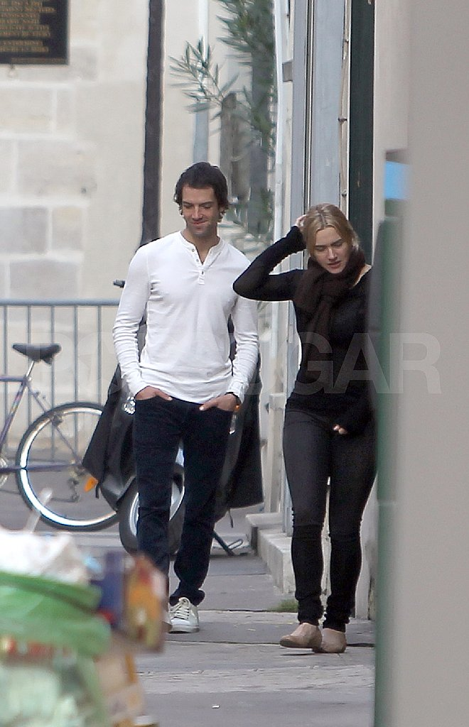 Kate Winslet with Ned Rocknroll in Paris.