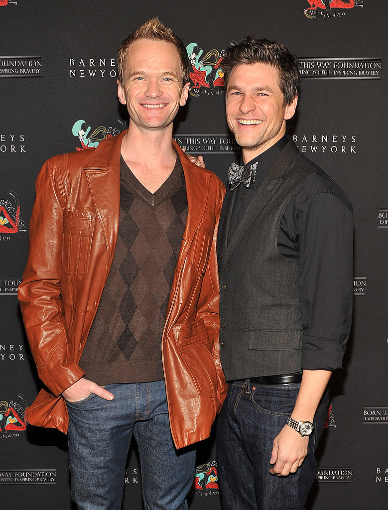 David Burtka and Neil Patrick Harris hit up Lady Gaga's Workshop.